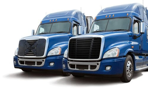 The Benefits of Using Winter Fronts for Semi-Trucks