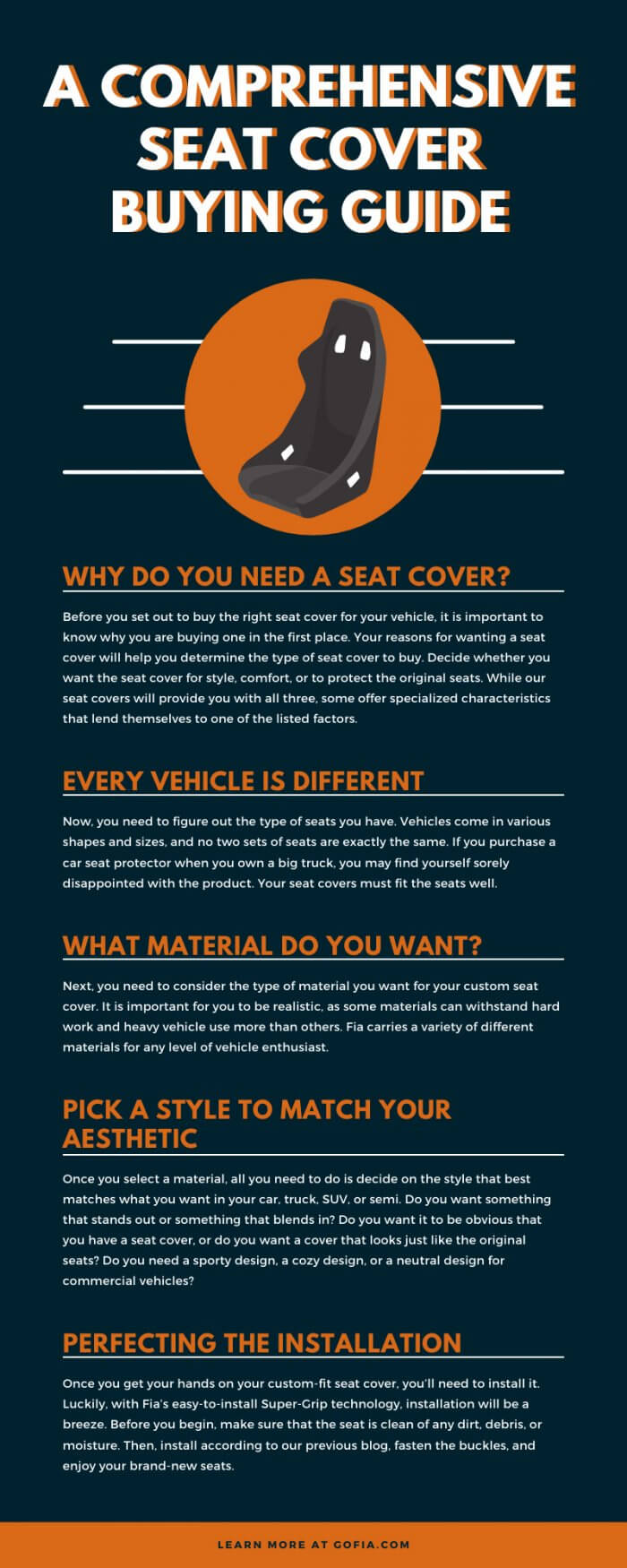 Seat Cover Buying Guide